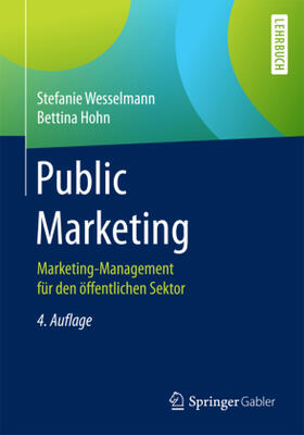 Wesselmann / Hohn   Public Marketing   Buch   sack.de