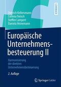 Europäische Unternehmensbesteuerung II. Bd.2