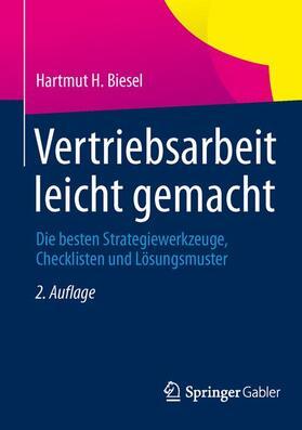 Biesel | Vertriebsarbeit leicht gemacht | Buch | sack.de