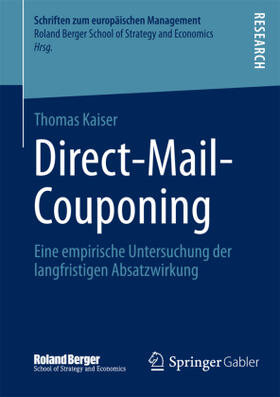 Kaiser | Direct-Mail-Couponing | Buch | sack.de