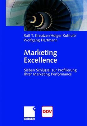 Kuhfuß / Hartmann / Kreutzer   Marketing Excellence   Buch   sack.de