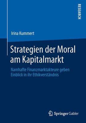 Kummert | Strategien der Moral am Kapitalmarkt | Buch | sack.de