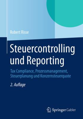 Risse   Steuercontrolling und Reporting   Buch   sack.de
