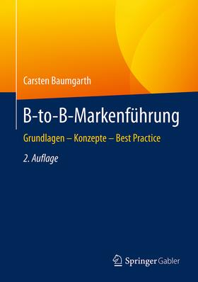 Baumgarth | B-to-B-Markenführung | Buch | sack.de