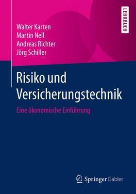Karten / Nell / Richter | Risiko und Versicherungstechnik | Buch | sack.de