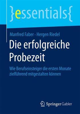 Faber / Riedel   Die erfolgreiche Probezeit   Buch   sack.de
