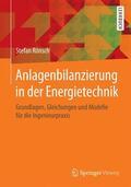 Rönsch |  Anlagenbilanzierung in der Energietechnik | Buch |  Sack Fachmedien
