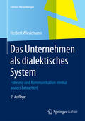 Wiedemann |  Das Unternehmen als dialektisches System | Buch |  Sack Fachmedien