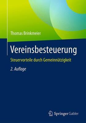 Brinkmeier | Vereinsbesteuerung | Buch | sack.de