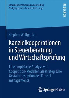 Wollgarten | Kanzleikooperationen in Steuerberatung und Wirtschaftsprüfung | Buch | sack.de