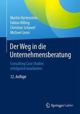Hartenstein / Billing / Schawel   Der Weg in die Unternehmensberatung   Buch   sack.de