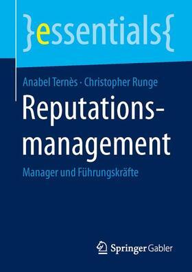 Runge / Ternès | Reputationsmanagement | Buch | sack.de