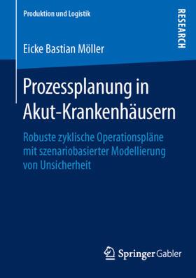 Möller   Prozessplanung in Akut-Krankenhäusern   Buch   sack.de