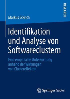 Eckrich   Identifikation und Analyse von Softwareclustern   Buch   sack.de