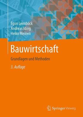 Leimböck / Iding / Meinen | Bauwirtschaft | Buch | sack.de