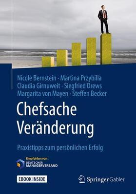 Bernstein / Przybilla / Girnuweit   Chefsache Veränderung   Buch   sack.de