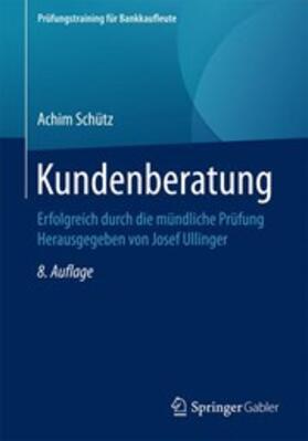 Schütz   Kundenberatung   Buch   sack.de