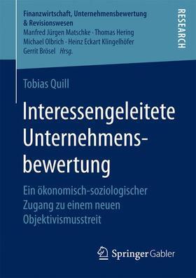 Quill | Interessengeleitete Unternehmensbewertung | Buch | sack.de