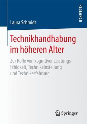 Schmidt   Technikhandhabung im höheren Alter   Buch   sack.de