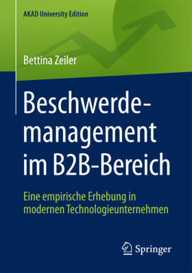 Zeiler | Beschwerdemanagement im B2B-Bereich | Buch | sack.de