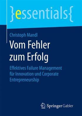 Mandl | Vom Fehler zum Erfolg | Buch | sack.de