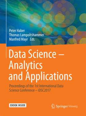Haber / Lampoltshammer / Mayr   Data Science - Analytics and Applications   Buch   sack.de