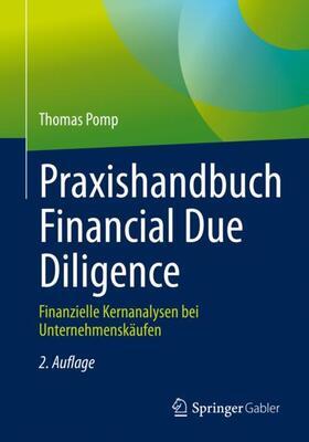 Pomp   Praxishandbuch Financial Due Diligence   Buch   sack.de