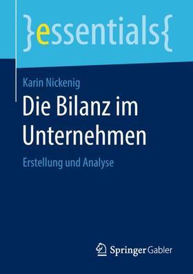 Nickenig | Die Bilanz im Unternehmen | Buch | sack.de