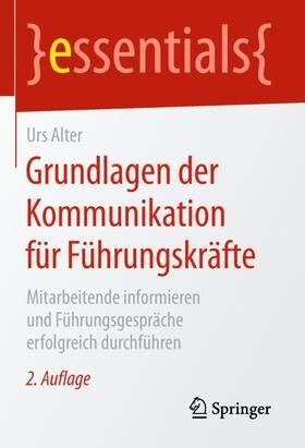 Alter | Grundlagen der Kommunikation für Führungskräfte | Buch | sack.de