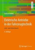 Babiel |  Elektrische Antriebe in der Fahrzeugtechnik | Buch |  Sack Fachmedien