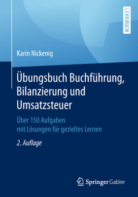 Nickenig | Übungsbuch Buchführung, Bilanzierung und Umsatzsteuer | Buch | sack.de