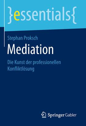 Proksch | Mediation | Buch | sack.de