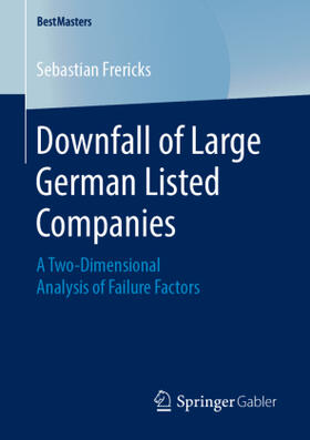 Frericks   Downfall of Large German Listed Companies   Buch   sack.de