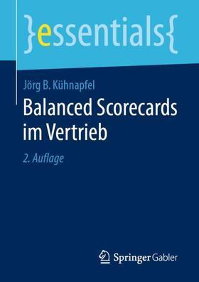 Kühnapfel | Balanced Scorecards im Vertrieb | Buch | sack.de