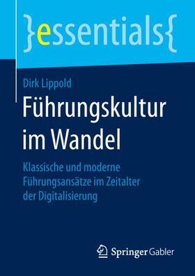 Lippold   Führungskultur im Wandel   Buch   sack.de