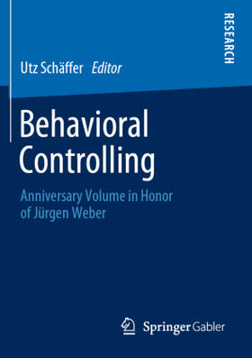 Schäffer   Behavioral Controlling   Buch   sack.de