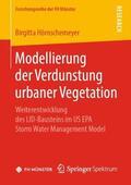 Hörnschemeyer |  Modellierung der Verdunstung urbaner Vegetation | Buch |  Sack Fachmedien
