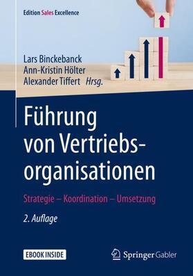 Binckebanck / Hölter / Tiffert | Führung von Vertriebsorganisationen | Buch | sack.de