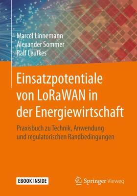 Linnemann / Sommer / Leufkes   Einsatzpotentiale von LoRaWAN in der Energiewirtschaft   Buch   sack.de