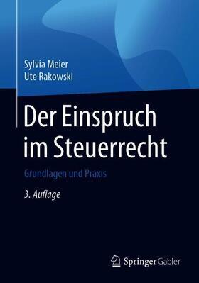 Meier / Rakowski | Der Einspruch im Steuerrecht | Buch | sack.de