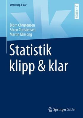 Christensen / Christensen / Missong   Statistik klipp & klar   Buch   sack.de
