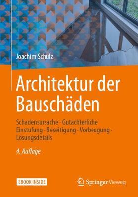 Schulz   Architektur der Bauschäden   Buch   sack.de