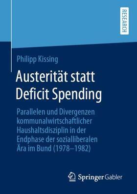 Kissing   Austerität statt Deficit Spending   Buch   sack.de