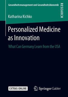 Kichko | Personalized Medicine as Innovation | Buch | sack.de