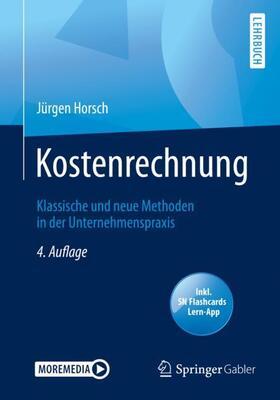 Horsch | Kostenrechnung, m. 1 Buch, m. 1 E-Book | Buch | sack.de