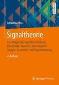 Mertins |  Signaltheorie | Buch |  Sack Fachmedien