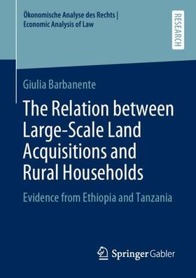 Barbanente | The Relation between Large-Scale Land Acquisitions and Rural Households | Buch | sack.de