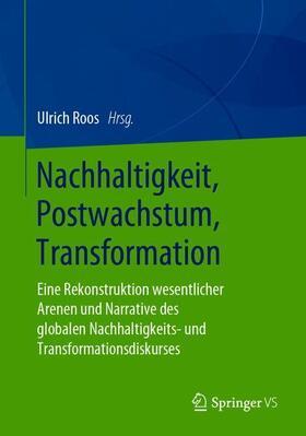 Roos | Nachhaltigkeit, Postwachstum, Transformation | Buch | sack.de
