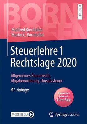 Bornhofen / Bornhofen | Steuerlehre 1 Rechtslage 2020 | Buch | sack.de