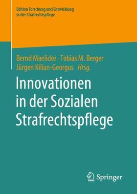 Maelicke / Berger / Kilian-Georgus   Innovationen in der Sozialen Strafrechtspflege   Buch   sack.de
